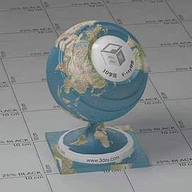 地球Vary材质球