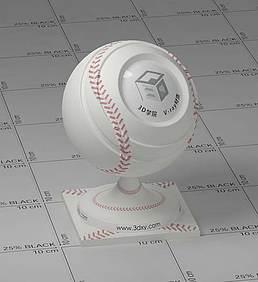 棒球vray材质