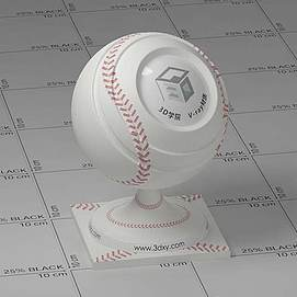棒球Vary材质球