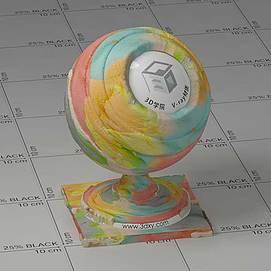 橡皮泥Vary材质球
