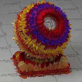 花纸Vary材质球