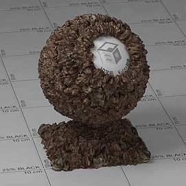 大便Vary材质球