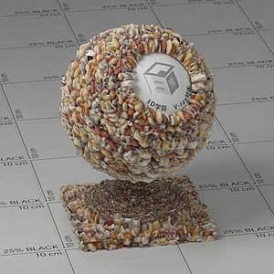 食品Vary材质球