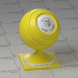 黃色檸檬Vary材質球
