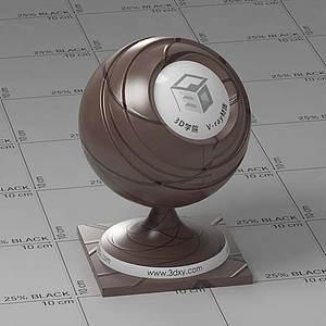 巧克力Vary材質球