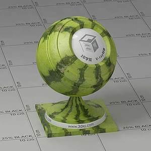 西瓜Vary材質球