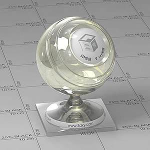 鉆石Vary材質球球