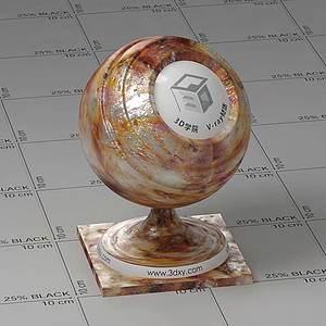 烧烤Vary材质球