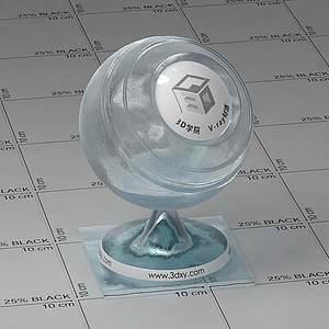 藍冰Vary材質球球