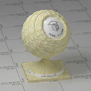 面包Vary材質球