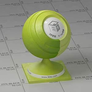 檸檬Vary材質球