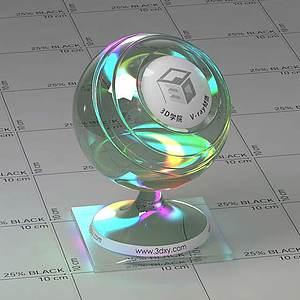 CD光盤Vary材質球球