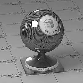 碳化纤维Vary材质球球