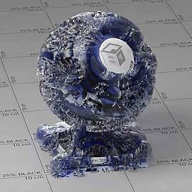 冰雪Vary材质球球