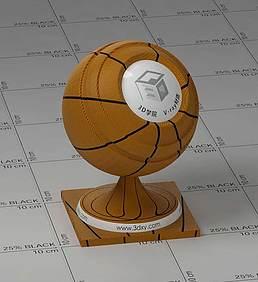 篮球vray材质