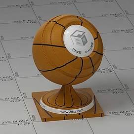 篮球Vary材质球球