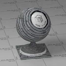 屋顶Vary材质球球