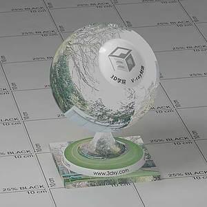 背景贴图Vary材质球球