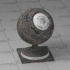 泥巴Vary材质球球