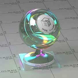 光盘CDVary材质球球