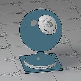 卡通Vary材质球球