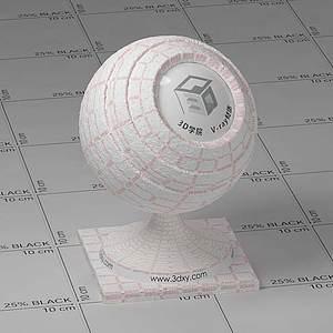 餐巾纸Vary材质球球