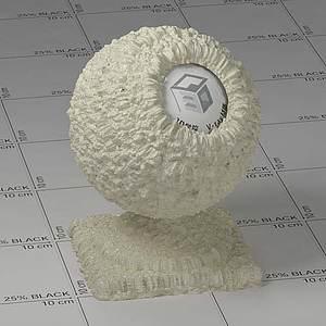 沙子Vary材质球球
