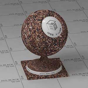 泥土Vary材质球球
