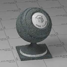 沥青Vary材质球球