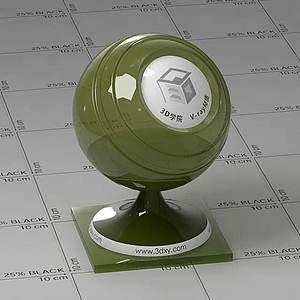 橄欖石Vary材質球球