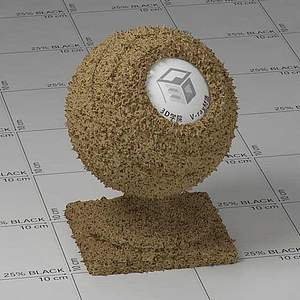 巧克力Vary材質球球