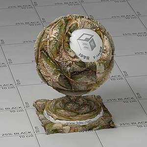 菠萝Vary材质球球