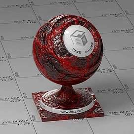 血管Vary材质球球