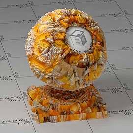 珊瑚Vary材质球球