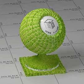 青蛇皮Vary材质球球
