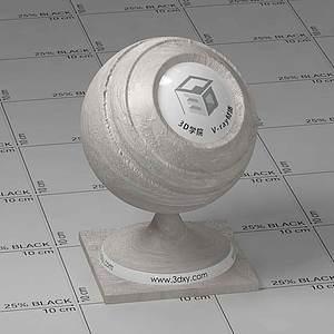 骨頭Vary材質球球