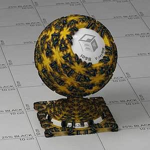 菠蘿Vary材質球球