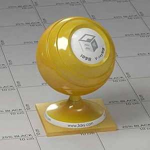 蜂蜜Vary材質球球