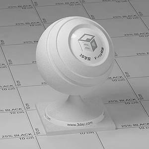 食鹽Vary材質球球