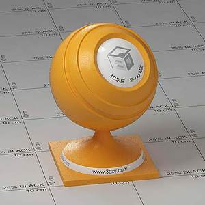 橙子Vary材質球球