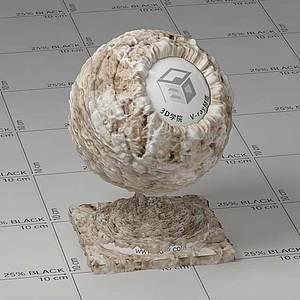 色拉Vary材質球球