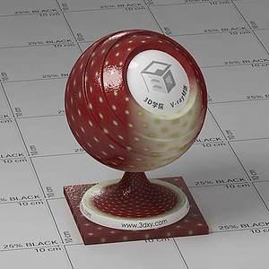 草莓Vary材质球球
