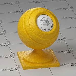 南瓜Vary材质球球
