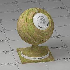 苔藓Vary材质球球