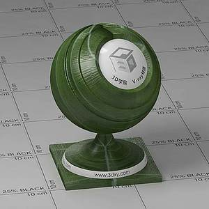 荷叶Vary材质球球