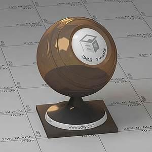咖啡Vary材質球球