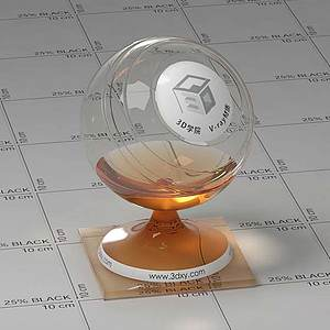 酒水Vary材質球球