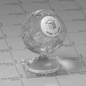 純凈水Vary材質球球
