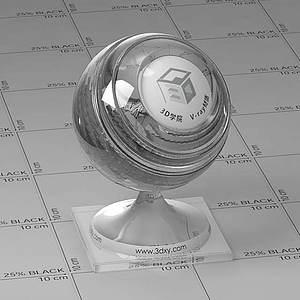 無色水Vary材質球球
