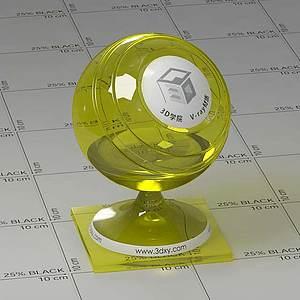 清油Vary材質球球